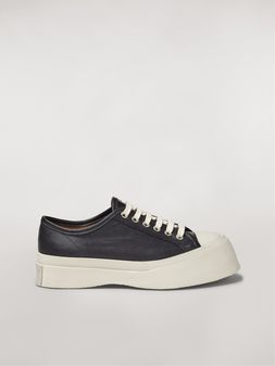 Marni Marni PABLO sneaker in black nappa leather Woman