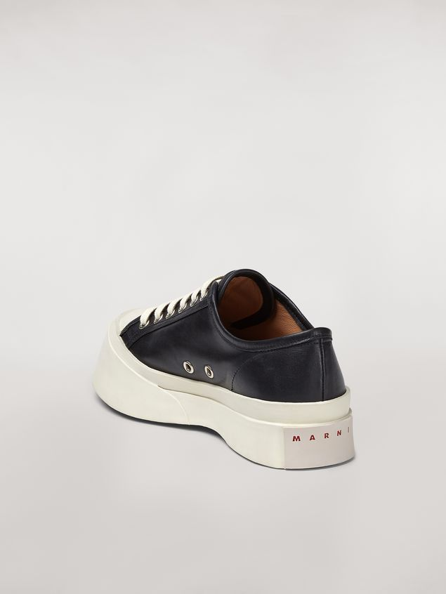 Marni Marni PABLO sneaker in black nappa leather Woman