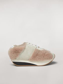 Marni Marni BIGFOOT sneaker in shearling Woman