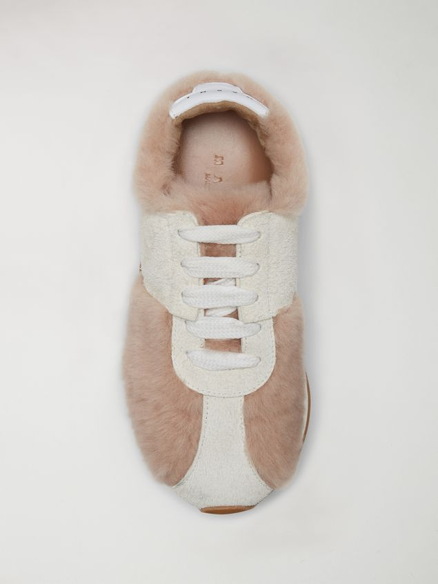 Marni Marni BIG FOOT sneaker in shearling Woman - 4