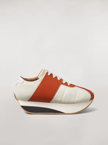 Marni Marni BIG FOOT sneaker in nappa lambskin Woman