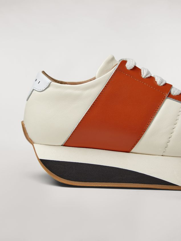 Marni Marni BIG FOOT sneaker in nappa lambskin Woman - 5