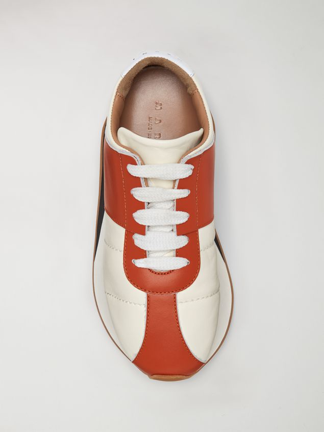 Marni Marni BIG FOOT sneaker in nappa lambskin Woman - 4