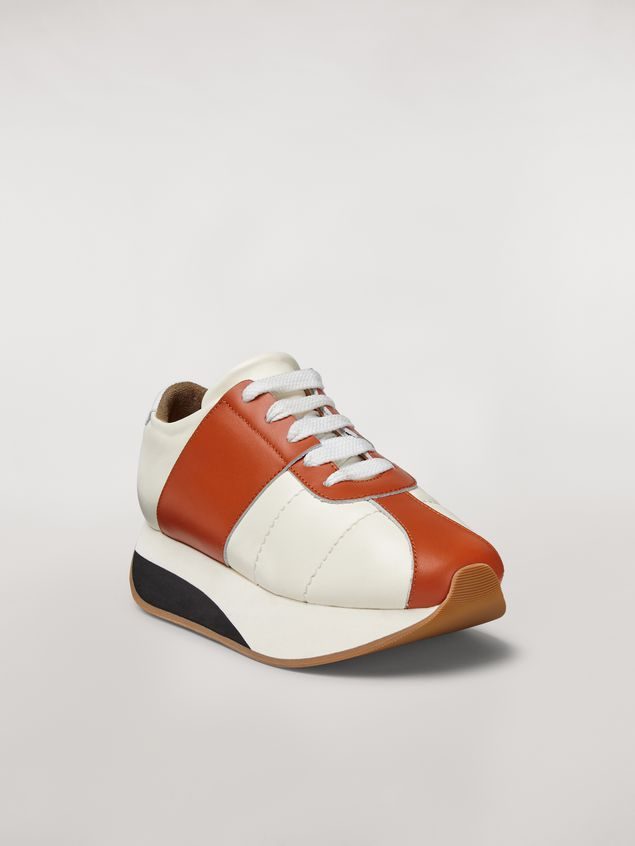 Marni Marni BIG FOOT sneaker in nappa lambskin Woman - 2