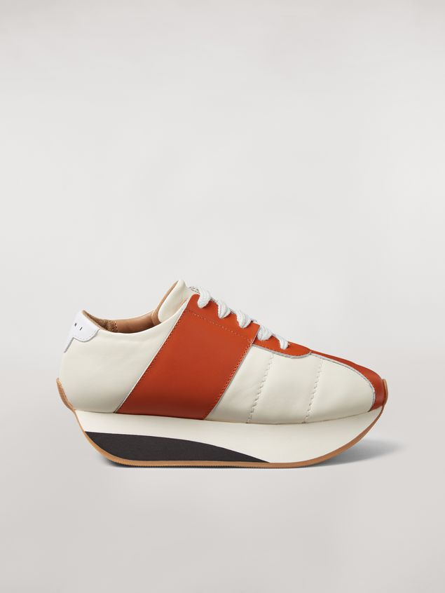 Marni Marni BIG FOOT sneaker in nappa lambskin Woman - 1