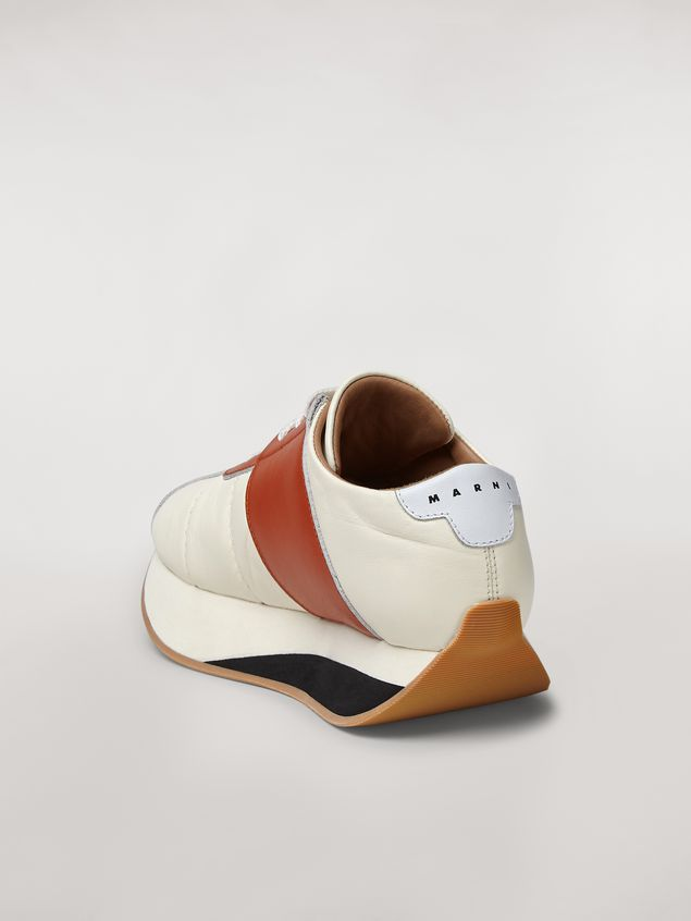 Marni Marni BIG FOOT sneaker in nappa lambskin Woman - 3