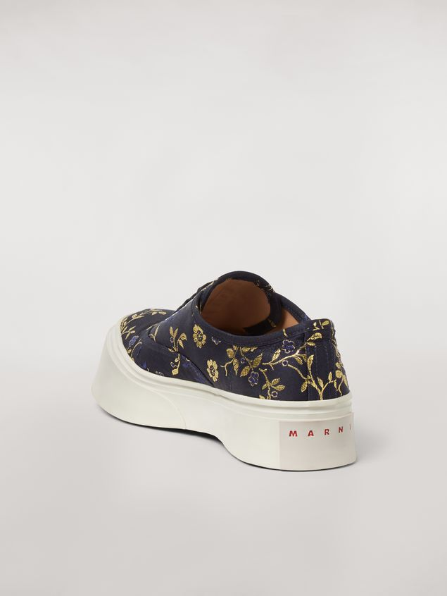 Marni Marni PABLO sneaker in floral jacquard Woman