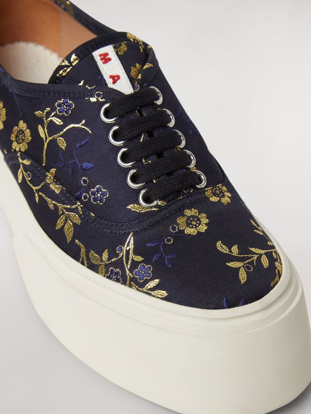 MARNI Sneakers Woman Marni PABLO sneaker in floral jacquard a