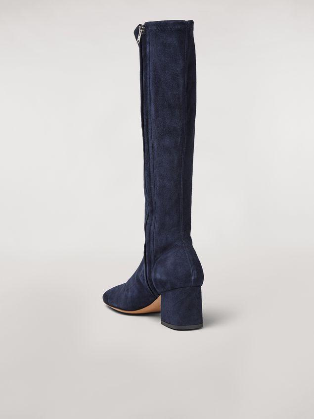 Marni Sock leg suede boot Woman