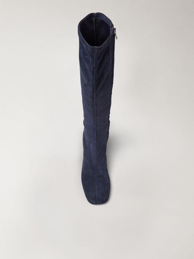 Marni Sock leg suede boot Woman - 4