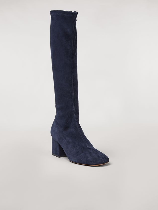 Marni Sock leg suede boot Woman - 2