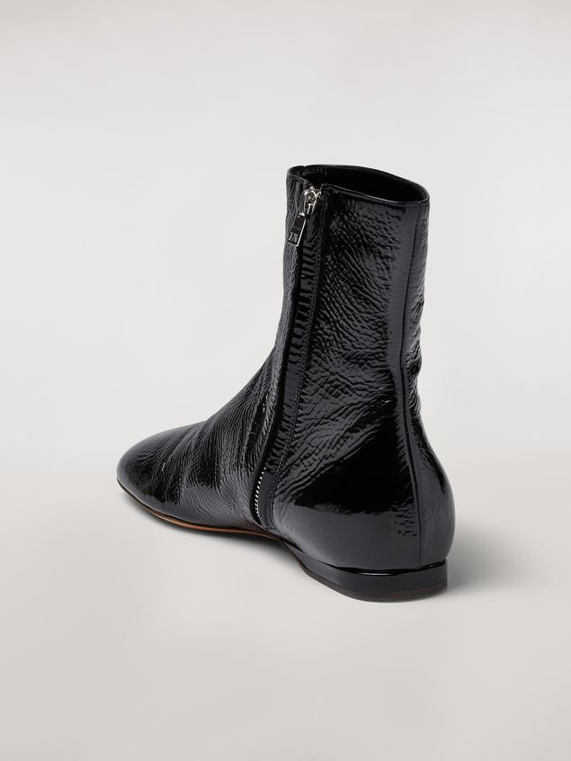 Marni Lambskin CHAIN ankle boot Woman