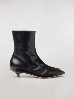 Marni PIERCING lambskin ankle boot Woman