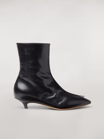 Marni PIERCING lambskin ankle boot Woman f