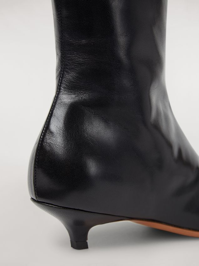 Marni PIERCING lambskin ankle boot Woman - 5