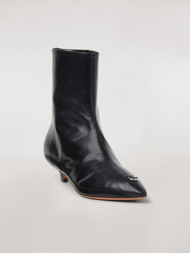 Marni PIERCING lambskin ankle boot Woman - 2