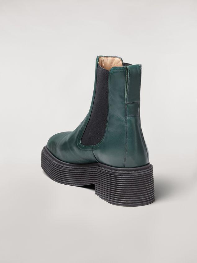Marni MILLERIGHE lambskin ankle boot Woman