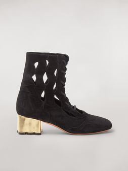 Marni TEATRO suede wedge Woman