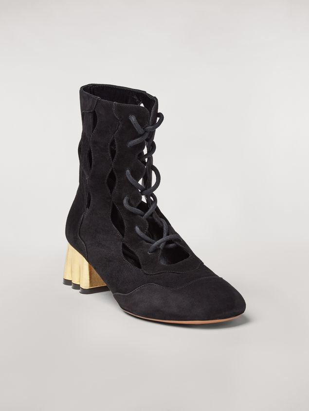 Marni TEATRO suede wedge Woman - 2
