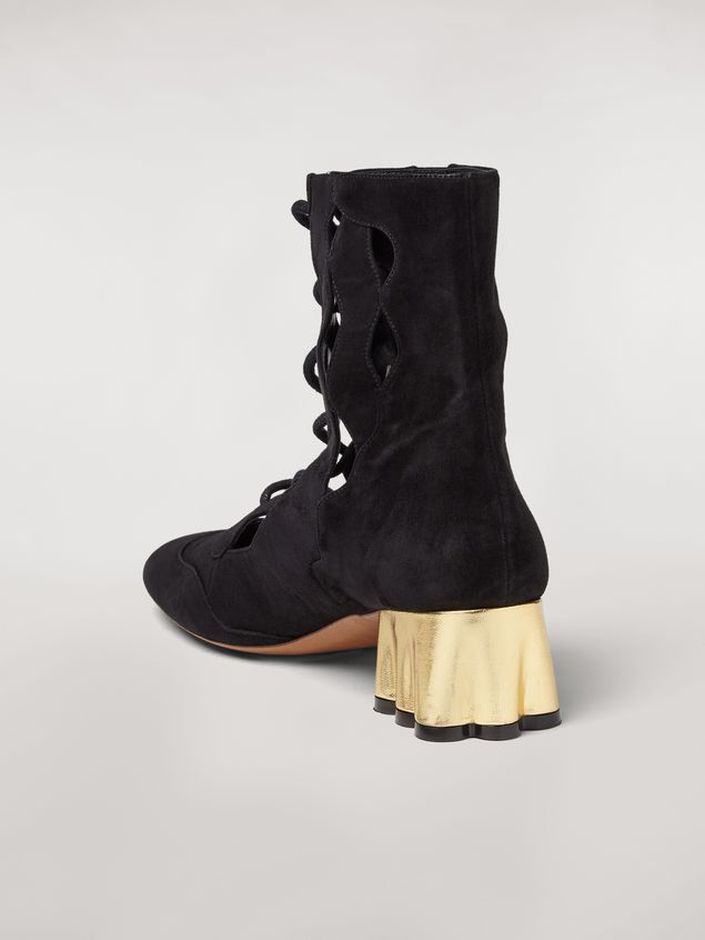 Marni TEATRO suede wedge Woman - 3