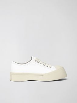 Marni Marni PABLO sneaker in white nappa leather Woman