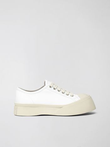 Marni Marni PABLO sneaker in white nappa leather Woman f