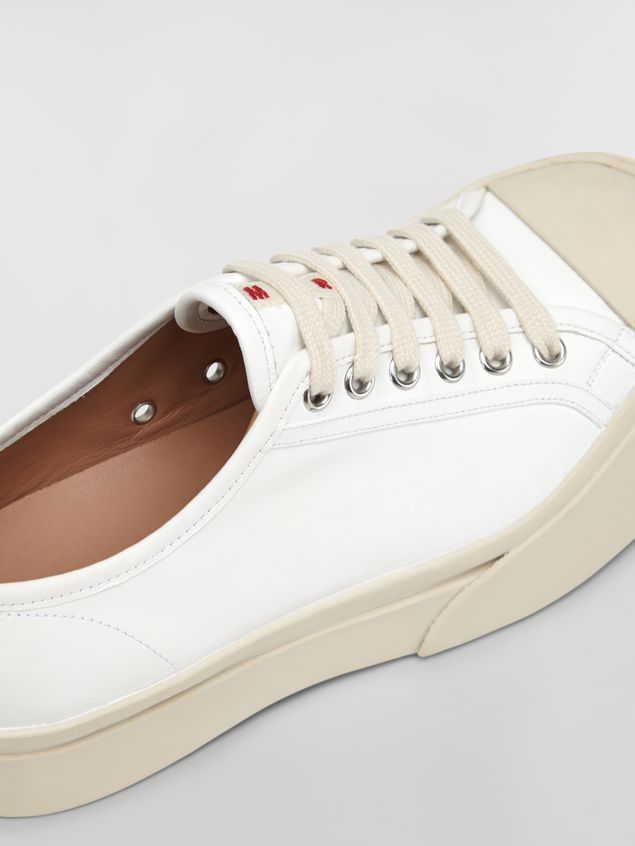 Marni Marni PABLO sneaker in white nappa leather Woman - 5