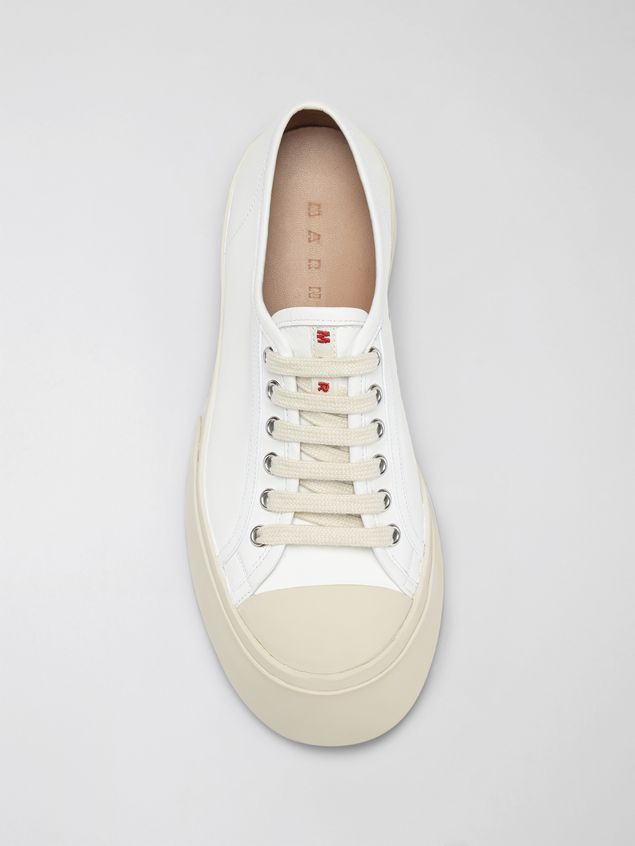 Marni Marni PABLO sneaker in white nappa leather Woman - 4