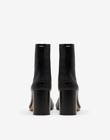 CALZADO Calfskin Tabi boots Negro