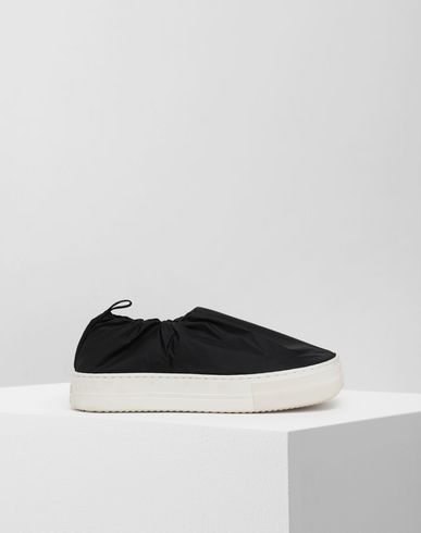 SHOES Covered slip-on sneakers Black