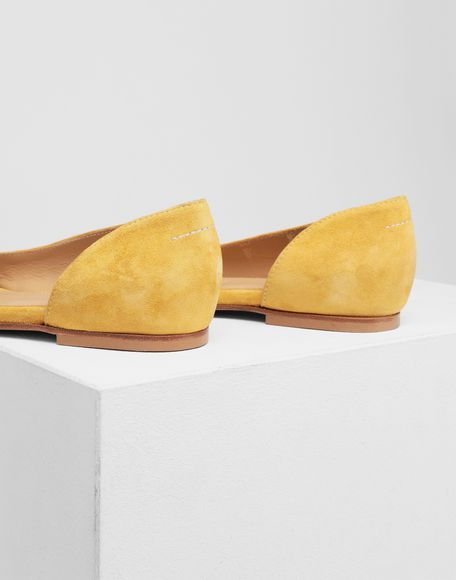 MM6 MAISON MARGIELA Leather flats Ballet flats Woman b