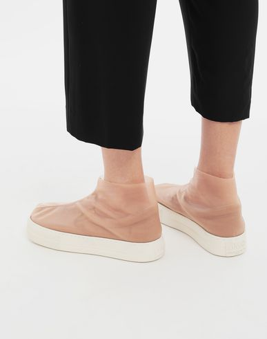 MM6 MAISON MARGIELA Sneakers Woman Covered slip-ons r