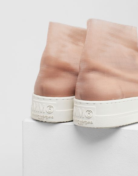 MM6 MAISON MARGIELA Covered slip-ons Sneakers Woman a
