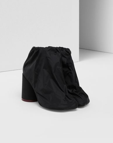 SHOES Covered ankle boots Black