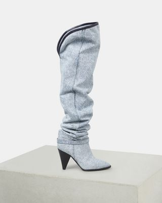 ISABEL MARANT BOOTS Woman LEARON thigh high boots d