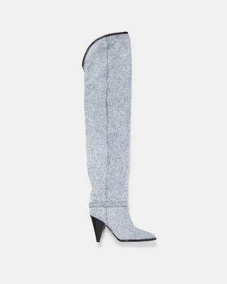 LEARON thigh high boots
