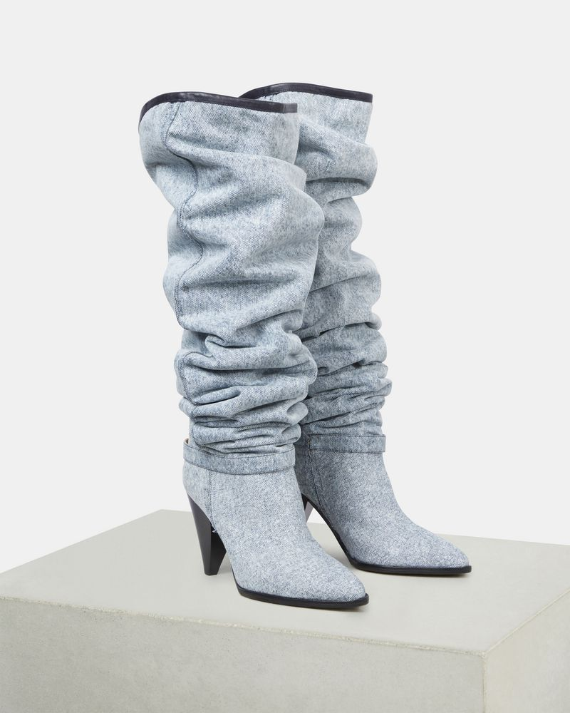 LEARON thigh high boots ISABEL MARANT