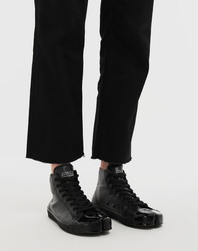 SHOES Tabi high-top sneakers Black