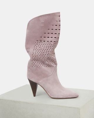 ISABEL MARANT BOOTS Woman LURREY high heeled boots d
