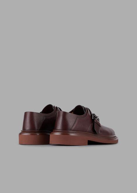 GIORGIO ARMANI Chaussure à boucles Homme d
