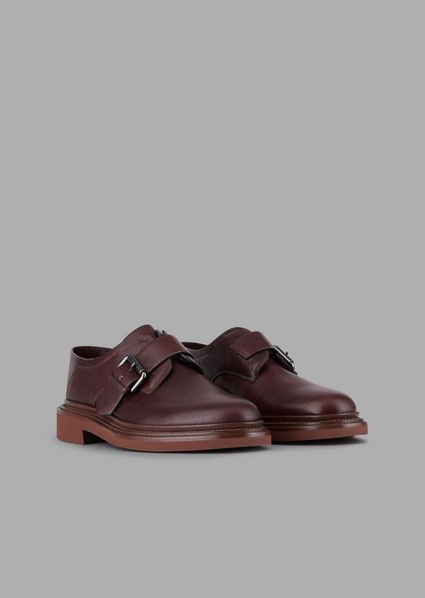 Monkstrap in pelle di vitello Serrano