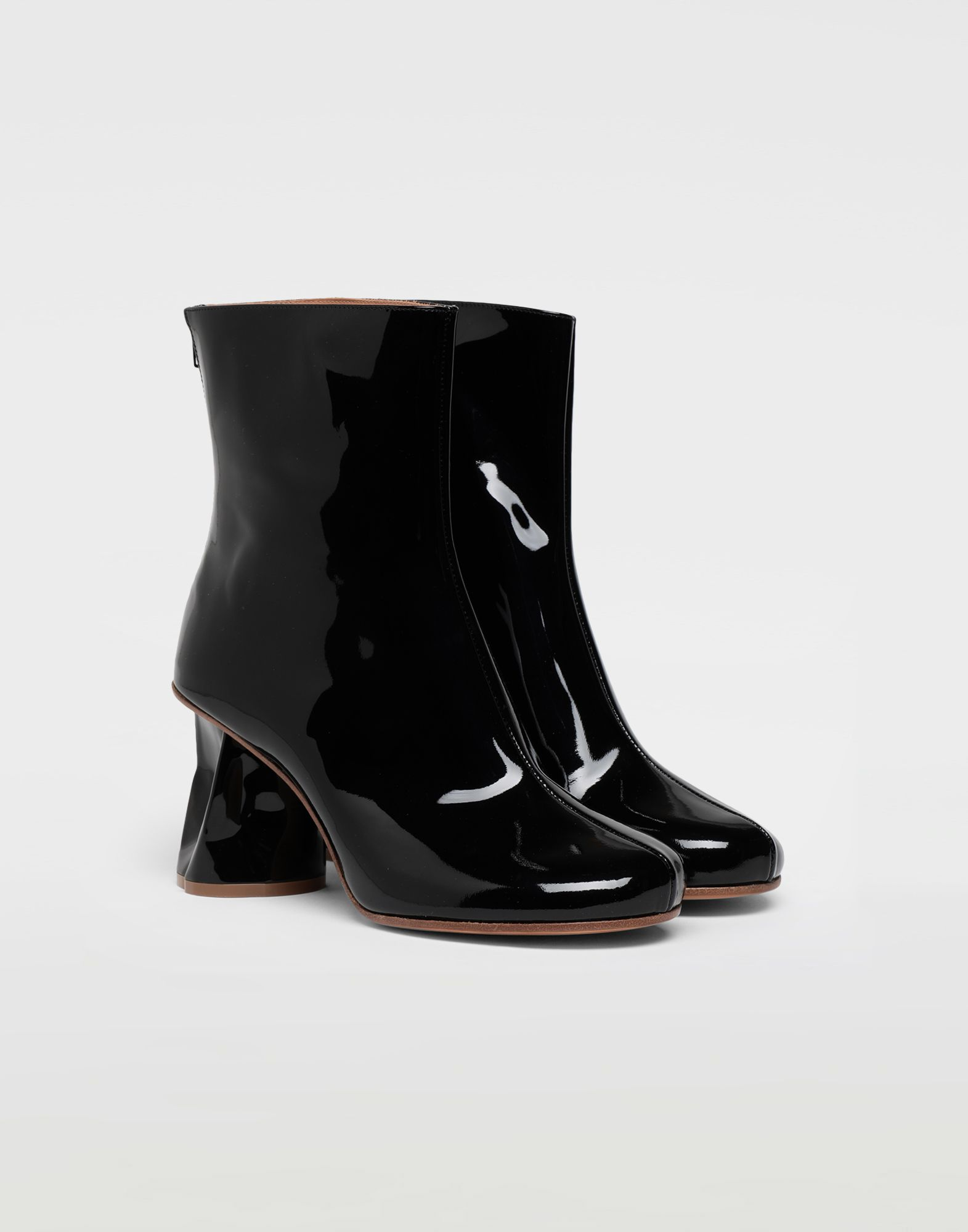 MAISON MARGIELA Crushed heel ankle boots Ankle boots Woman r