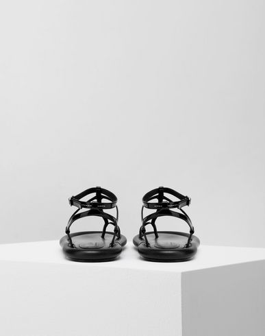 SHOES Strapped cushion sandals