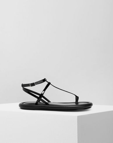 MM6 MAISON MARGIELA Strapped cushion sandals Sandals Woman f