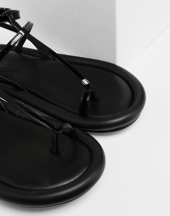 MM6 MAISON MARGIELA Strapped cushion sandals Sandals [*** pickupInStoreShipping_info ***] a