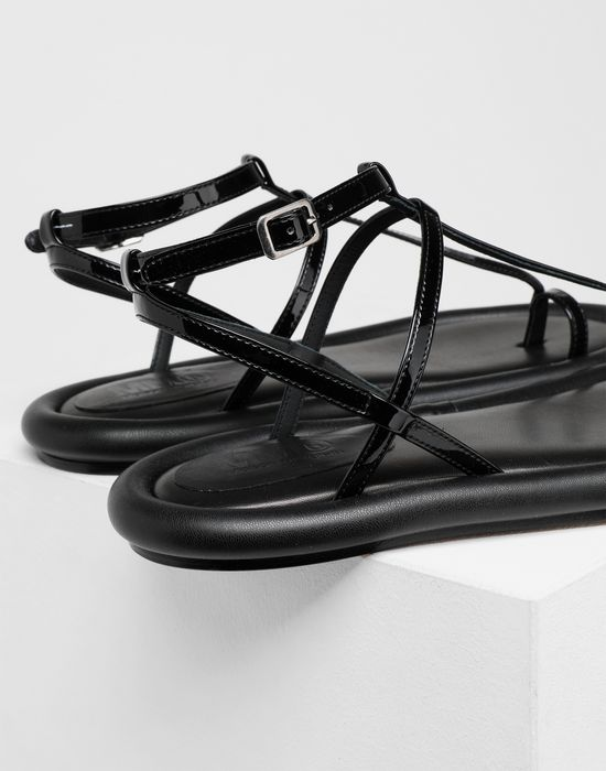 MM6 MAISON MARGIELA Strapped cushion sandals Sandals [*** pickupInStoreShipping_info ***] e