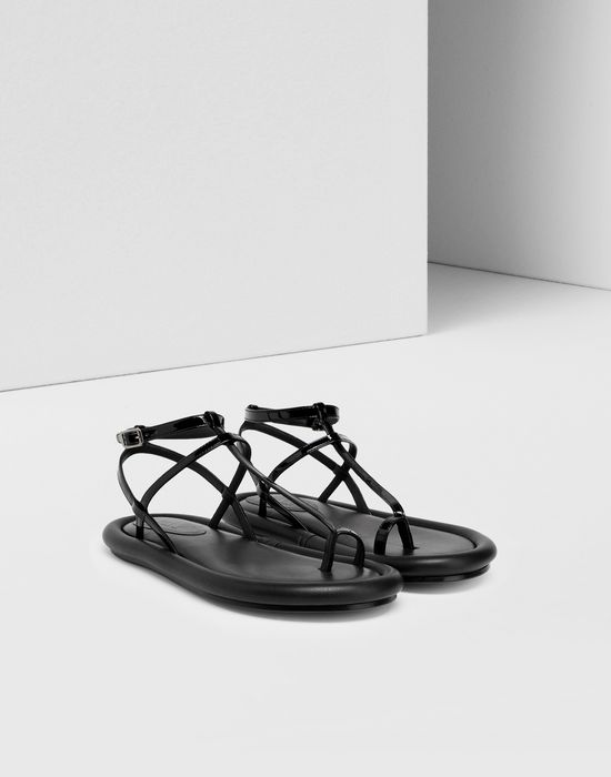 MM6 MAISON MARGIELA Strapped cushion sandals Sandals [*** pickupInStoreShipping_info ***] r