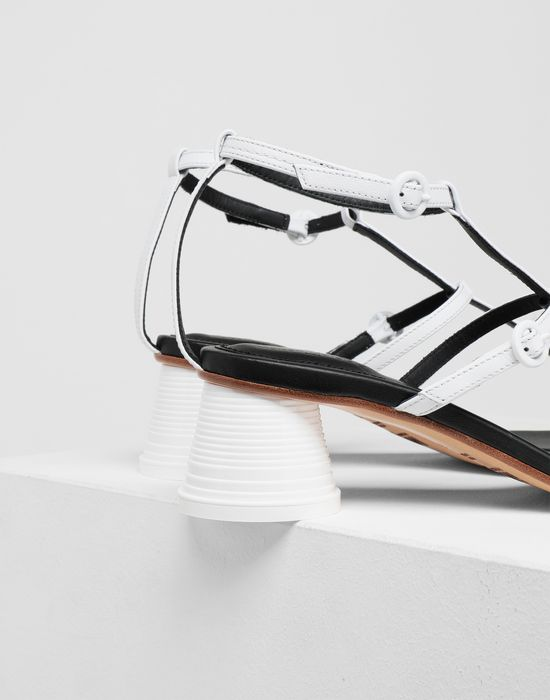 MM6 MAISON MARGIELA Espresso cup heel thong sandals Sandals [*** pickupInStoreShipping_info ***] a