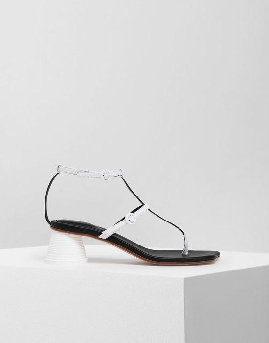 MM6 MAISON MARGIELA Espresso cup heel thong sandals Sandals [*** pickupInStoreShipping_info ***] f