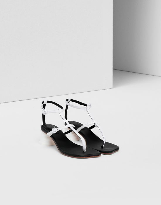 MM6 MAISON MARGIELA Espresso cup heel thong sandals Sandals [*** pickupInStoreShipping_info ***] r